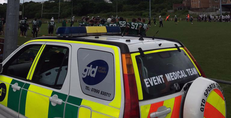 Event Medical Cover by GTD Sports Therapy